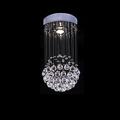 Radient Modern Led Crystal Ceiling Lamp Led Lamps Stainless Steel K9 Crystal Ceiling Lamps E27 Led Light Led Lustre Ceiling Lights To Be Distributed All Over The World Ceiling Lights & Fans