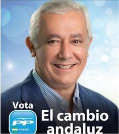 Javier Arenas, PP. Elecciones Andalucía, 2012.