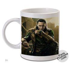 Loki Tom Hiddleston The Avengers Style, Coffee mug coffee, Mug tea, Design for mug, Ceramic, Awesome, Good, Amazing