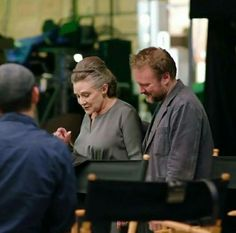 First look of Leia in The Last Jedi!