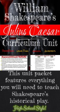 the utilization of letters in the play julius caesar by william shakespeare The paperback of the julius caesar by william shakespeare at 1893-how the play of julius caesar works to a william shakespeare: julius cäsar / julius caesar.
