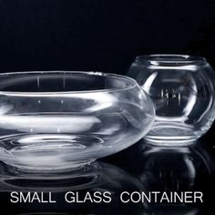 First, choose a fun glass container for your creation: