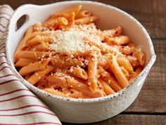 Penne alla Vodka : In just 25 minutes, you can transform everyday tomato sauce with vodka and cream for an easy dinner.