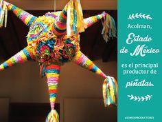 Acolman, Estado de México es el principal productor de piñatas. SAGARPA SAGARPAMX #SomosProductores