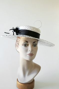 40 - SWISS STRAW FUNDAMENTALS: CLASSIC STYLING BY HAT ACADEMY #millinery #hats #HatAcademy