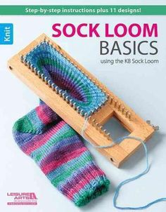 Everyone loves hand-knitted socks! And now you can knit custom socks for everyone on your gift list--even if you've never knitted anything before! The adjustable KB Sock Loom makes it easy. Just move