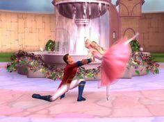 Barbie in the Nutcracker Dancing