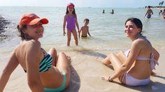 Tsantes siblings at Sombrero Beach