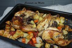 Cocinando con Montse: Pollo al horno al limón