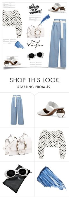 """My Mood Today"" by lidia-solymosi ❤ liked on Polyvore featuring TIBI, Neous, Miu Miu, Topshop, Sisley and Eyeko"