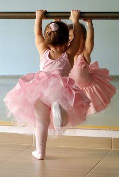 ballerina in training