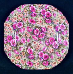 Lord Nelson BRIAR ROSE VINTAGE CHINTZ Salad Plate