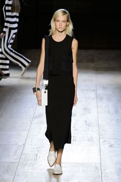 "<p tabindex=""-1"">Victoria Beckham spring 2015 collection. Photo: Imaxtree</p>"