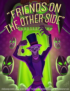 """Friends on the Other Side by Sh3lly.deviantart.com on @DeviantArt - Dr. Facilier from """"The Princess and the Frog"""""""