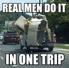 funny pictures, moving in one trip