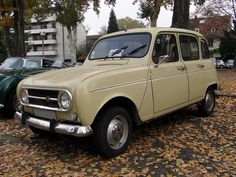 1974 Renault 4TL - mine was white and a little more 'care-worn'