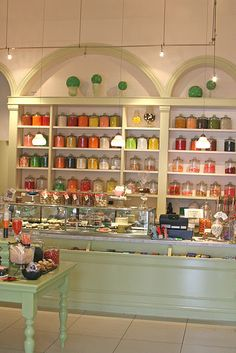 I need to try this cute little candy store/bakery in the Ferry Building, San Francisco.
