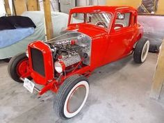 Dodge: Other 1934 Dodge 5 window Coupe Hot Rod, Ford Flathead V8, Manual 3-Speed