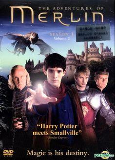 The Adventures of Merlin - DVD.