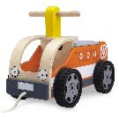Wonderworld Ride-On Recycling Truck Push Toys, Non Toxic Paint, Ride On Toys, Fire Engine, Plush Animals, Infant Activities, Wooden Handles, Biodegradable Products, Baby Gifts