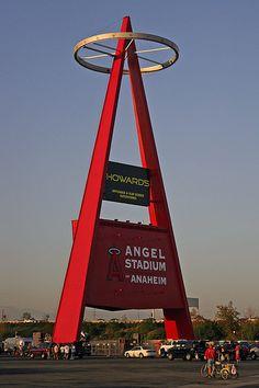 Angel Stadium. (Anaheim=Home <3 )