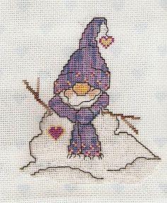 LUMPY (MELT-A-WAYS) - Counted Cross Stitch Pattern $6.95