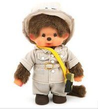 Livraison gratuite mignon monchhichi Mon monkiki jouet de poupée fée jungle garçons kiki en peluche jouet monchichi 20 cm fille cadeau de mariage décoration(China (Mainland))