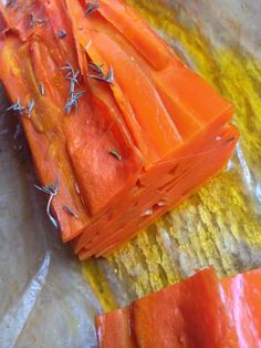 Side dish: easy carrot stack from Alexx Stuart Vegetable Sides, Vegetable Salad, Carrot Recipes, Healthy Recipes, Baked Carrots, 30 Minute Meals, Sugar Free Recipes, Some Recipe, Grain Free