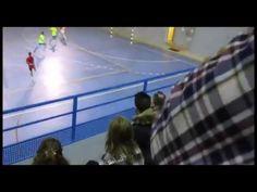 Partido de futbol sala cadete entre Oroquieta Espinillo y UDRB Las Matas