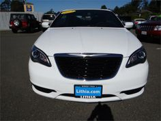2013 Chrysler 200Convertible S S 2dr Convertible Convertible 2 Doors Bright White Clearcoat for sale in Eureka, CA Source: http://www.usedcarsgroup.com/used-chrysler-for-sale-in-eureka-ca
