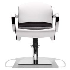 Chiocciola Up Modern Styling Chair with metal arms #michelepelafas