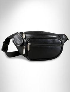 Travelon® Leather Waist Pack