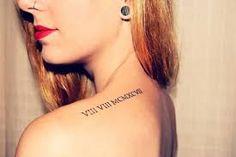 date tattoos - Google Search