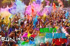 Run or Dye! Something I've wanted to do  will be taking part in on 9th August @ Castle Howard! DONE IT!! :)
