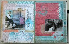 Journal Spread   via Flickr