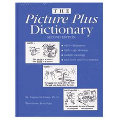 The Picture Plus Dictionary Second Edition - a great reading tool for all learners interested in learning sign language - comes with contextual meanings for all words and signs!   http://www.maxiaids.com/products/14254/The-Picture-Plus-Dictionary-Second-Edition.html