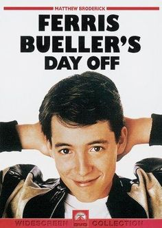Ferris Bueller's Day Off on DVD from Paramount Pictures. Directed by John Hughes. Staring Matthew Broderick, Alan Ruck, Cindy Pickett and Jeffrey Jones. More Comedy, Coming-Of-Age and High School DVDs available @ DVD Empire. Ferris Bueller, High School Movies, 80s Movies, Great Movies, Awesome Movies, See Movie, Movie Tv, Movie Place, Movies Showing