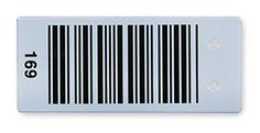 Stainless steel coated with fused ceramic to create ceramic barcode labels & tags customized to your requirements.