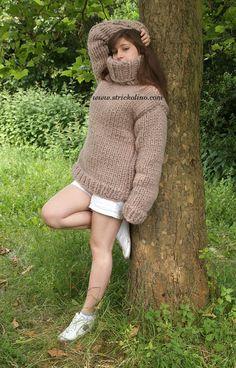 Mohair Pullover beige
