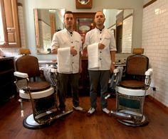 De Tacones y Bolsos: Malayerba. Una barbería a la antigua usanza en Malasaña (Madrid)