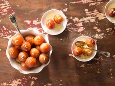 Gulab Jamun (#LC14047): Gulab Jamun is a most popular dessert consists of dumplings traditionally made of thickened or reduced milk, soaked in rose flavored sugar syrup. Gulab means Rose and Jamuns are brown colored dumplings.