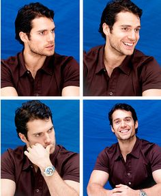 Henry Cavill is Superman!  And he's pretty dreamy, too.   ;)