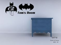 Lego Superhero Batman Childrens Bedroom Wall Sticker Wall Art Decal