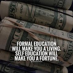 Self education will make you a fortune Trading Walk #Forex #Stocks #Binary #Traders #Trading #Money #Investing