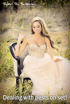 Skyler Rountree - Heritage High School - Class of 2013 - #seniorportraits - Senior Model Rep - Summer - Prom Dress - Antique Chair - Tall Grass - Beautiful - McKinney - Tyler R. Brown Photography