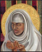 "Rabi'a al-Basri: Sufi Saint Dates: 717-801(CE)  Country: Iraq  About Rabi'a Al-Basri, the first female Sufi saint and poet in Islam, set forth the doctrine of ""Divine Love."""