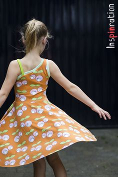 Look at that twirl- Montis dress