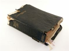 Looks like my Dad's Bible...  It's why my childhood was a happy one!