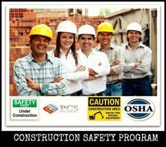 In need of a construction safety program? We can help you!