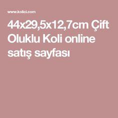 44x29,5x12,7cm Çift Oluklu Koli online satış sayfası